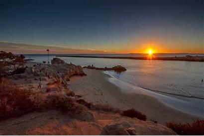 Newport Beach Sunset California Santa Mar Del