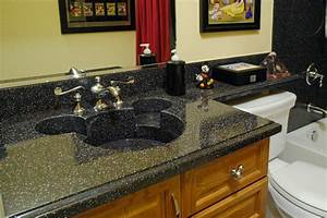 custom made corian mickey mouse sink using the color With kitchen cabinets lowes with mickey minnie wall art
