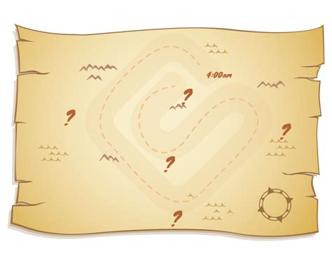 treasure map invitation templates cloudinvitationcom