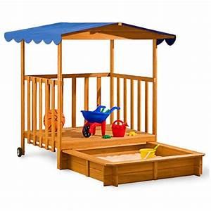 Bac à Sable Bois : bac a sable en bois avec couvercle pas cher ~ Premium-room.com Idées de Décoration