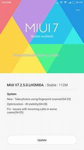 Miui 7 2 5 0 For Redmi Note 3  U2013 Adds Feature To Take