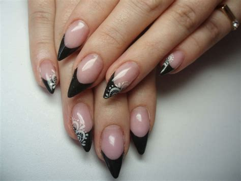 pointed nail designs easy nail designs pictures and tutorials