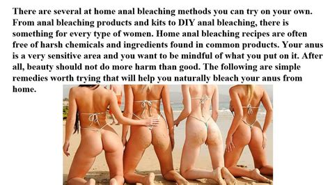 How To Bleach Your Anus Anal Bleaching At Home Youtube