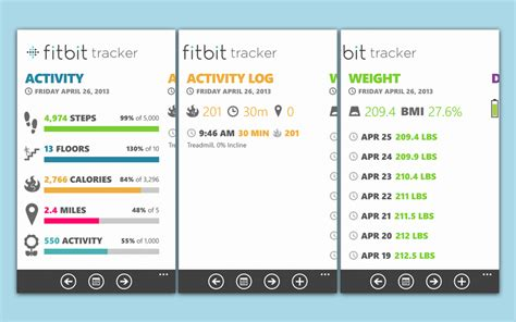 fitbit tracker for windows phone gets updated for the