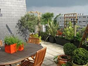 idees deco terrasse appartement With idee deco terrasse appartement
