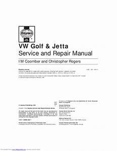 Pdf  Vw Golf  U0026 Jetta Service And Repair Manual