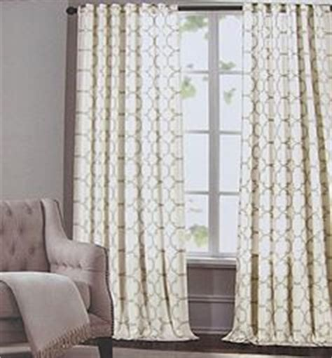 Hilfiger Curtains Lake by Hilfiger Lake Ivory Beige 2pc Window Curtain