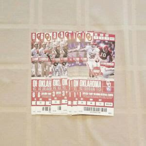 View Ou Sooners Football Tickets  Pictures