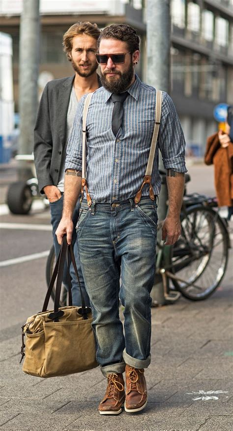 Rugged Men Fashion Mens Cat