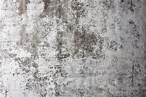 Free photo: Grunge White Wall Texture Concrete Damaged