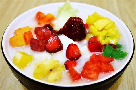 resep sop buah segar nikmat