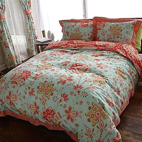 Amy Butler by Welspun Sari Bloom Reversible Comforter Set