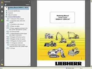 Liebherr Diesel Engine D9508 A7    D9512 A 7service Manual
