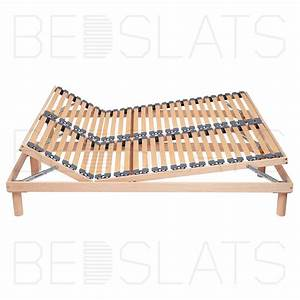 Adjustable Floor Standing Slatted Bed Base