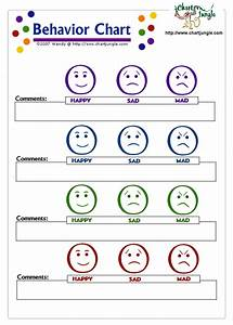 behavior chart toddlers kids activities pinterest With smiley face behavior chart template