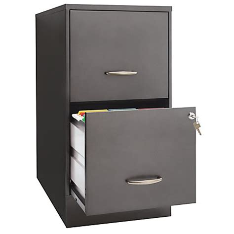 Locking File Cabinet Office Depot by Officemax 22 2 Drawer File Cabinet By Office Depot Officemax