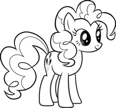 Pinkie Pie Kleurplaat by Pinkie Pie Coloring Pages Best Coloring Pages For
