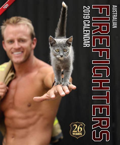 firefighters calendar cat calendar australian firefighters