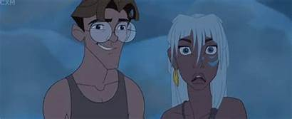 Atlantis Disney Kida Milo Lost Animated Helga