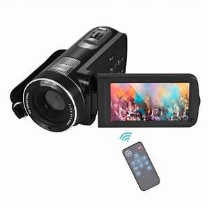 "Digital Video Camera Full HD 1080P Portable Camcorders DV 3.0"" Rotating LCD Touch Screen 16x ..."