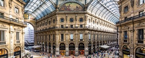 la galleria vittorio emanuele ii lombardie italie