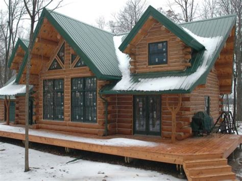 cool cabin plans log cabin modular homes log cabin home with metal roof