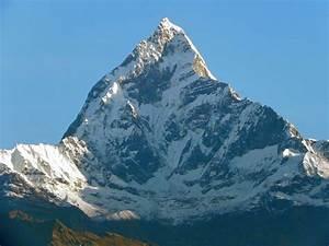 Annapurna seen from Pokhara