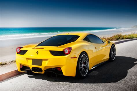 108 Ferrari 458 Italia Hd Wallpapers Backgrounds