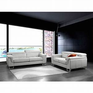 casamiadesign canape san marco 2 places fabrique main With achat canape cuir en italie