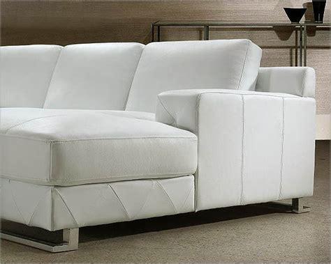 white leather sectional sofa set