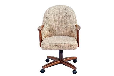 Chromcraft Furniture C127936 Swivel Tilt Caster Arm Chair