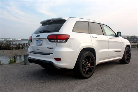 jeep trackhawk back review 2018 jeep grand cherokee trackhawk supercharges
