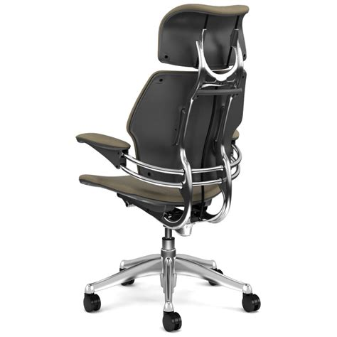 shop humanscale leather freedom chairs polished aluminum