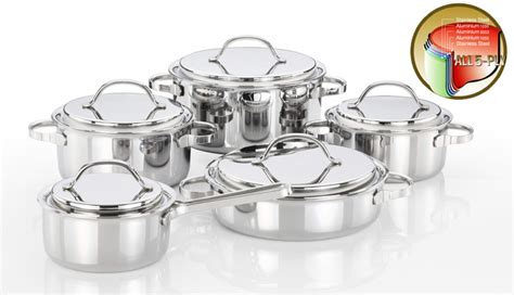 cookware cookwares stainless steel sets ec21 korea kitchenware 3ply