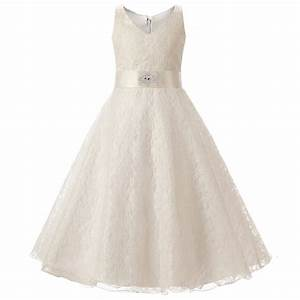 fashion teenage kids princess 6 to 10 year old girl With dresses for 10 year olds for a wedding