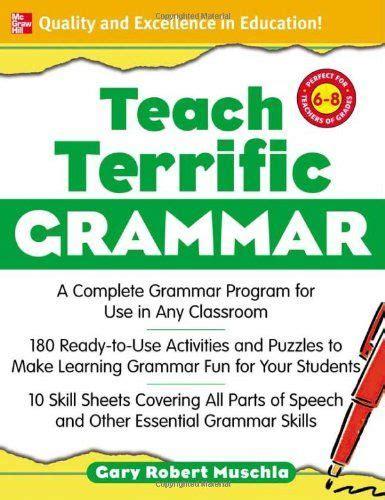 bestseller books  teach terrific grammar grades