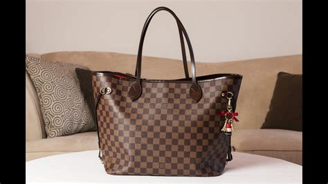 louis vuitton neverfull mm review youtube