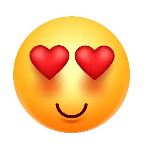 heart eyes emoji png photo png mart