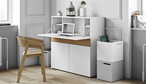bureau secr aire blanc secretaire design