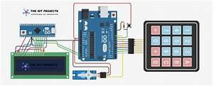 Password Security Lock System Using Arduino  U0026 Keypad