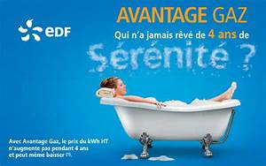 Prix Du Consuel Edf : nouvelle offre avantage gaz d edf une publicit engageante ~ Melissatoandfro.com Idées de Décoration