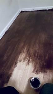Gel stain for laminate floors diy stain laminate floors for Removing stains from laminate floors