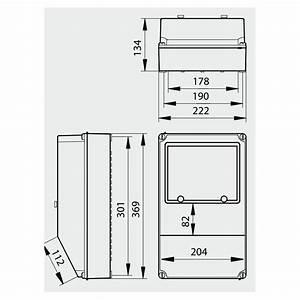 Dimension Tableau Electrique : dimension compteur edf nm72 jornalagora ~ Melissatoandfro.com Idées de Décoration