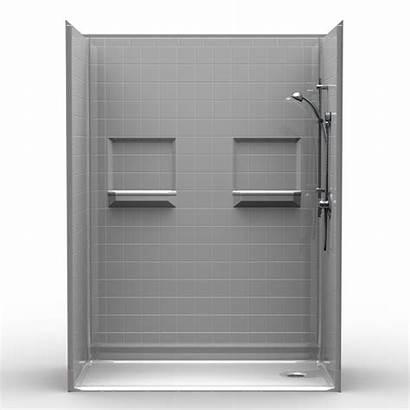 Shower Barrier Piece Tile 60 Threshold Showers