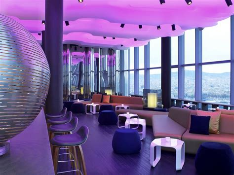 Bar W Hotel by Located On The 26th Floor Of The W Hotel Barcelona