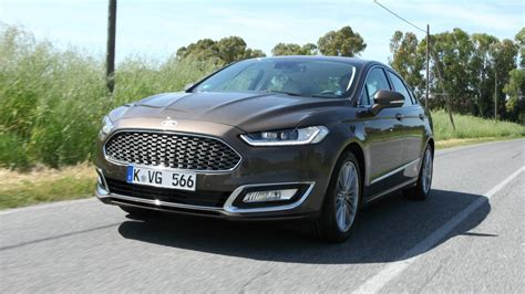 drive   ford mondeo vignale hybrid top gear