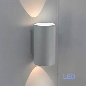 Up And Down Lampen Aussen : led au enleuchte wandleuchte grau 55693071 fli fischer ~ Whattoseeinmadrid.com Haus und Dekorationen