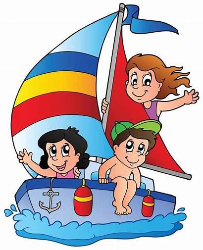 Clipart Yacht Adventure Three Outdoor Illustration Cartoon