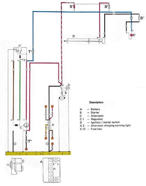 Automotive Charging System Wiring Diagram by Charging System Tests