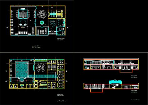 spa dwg full project  autocad designs cad